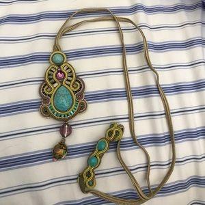 Dori Csengeri Designer Statement Necklace